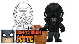 Rainbow Six Siege   How to Draw Mute (Art Tutorial)
