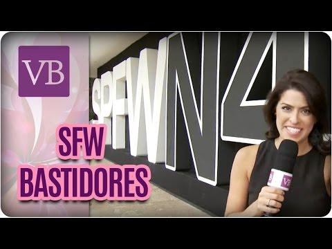 Bastidores da SPFW - Você Bonita (15/03/17)