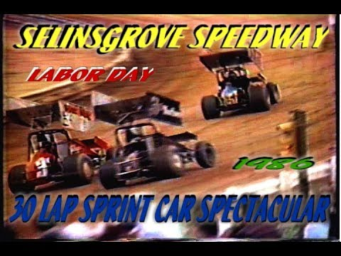 Selinsgrove  Speedway  preview  1988
