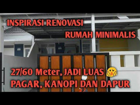 Renovasi Tampak Depan Rumah Minimalis  perbedaan bata merah dengan bata ringan by rudiyana channel