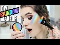 DIY RAINBOW HIGHLIGHTER! Viral Pinterest Hack TESTED!