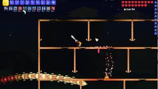 Terraria 1.3.0.7: Expert Destroyer kill (Pure melee)