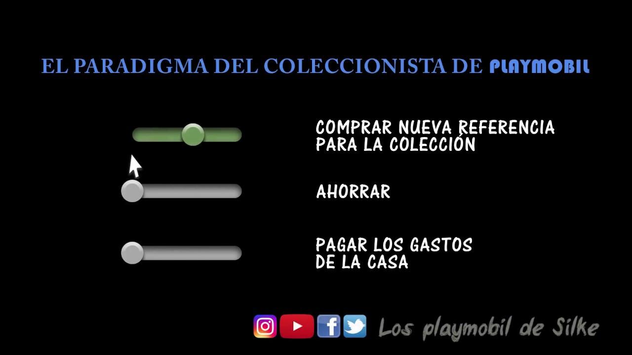 Paradigma del coleccionista de Playmobil