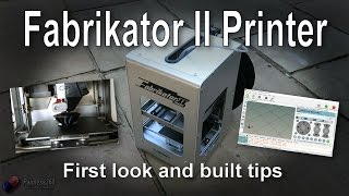 First Look: HobbyKing Fabrikator II 3D Printer