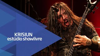 """Slain fate"" - Krisiun no Estúdio Showlivre 2015"