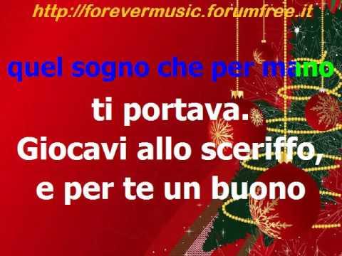 Buon Natale Karaoke.Renato Zero Buon Natale Karaoke