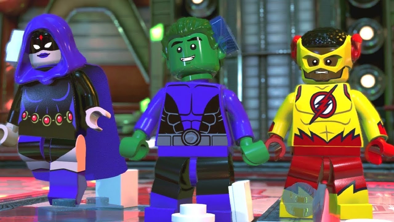 LEGO DC Super-Villains Walkthrough Part 3 - STAR Labs (Vs. Teen Titans)