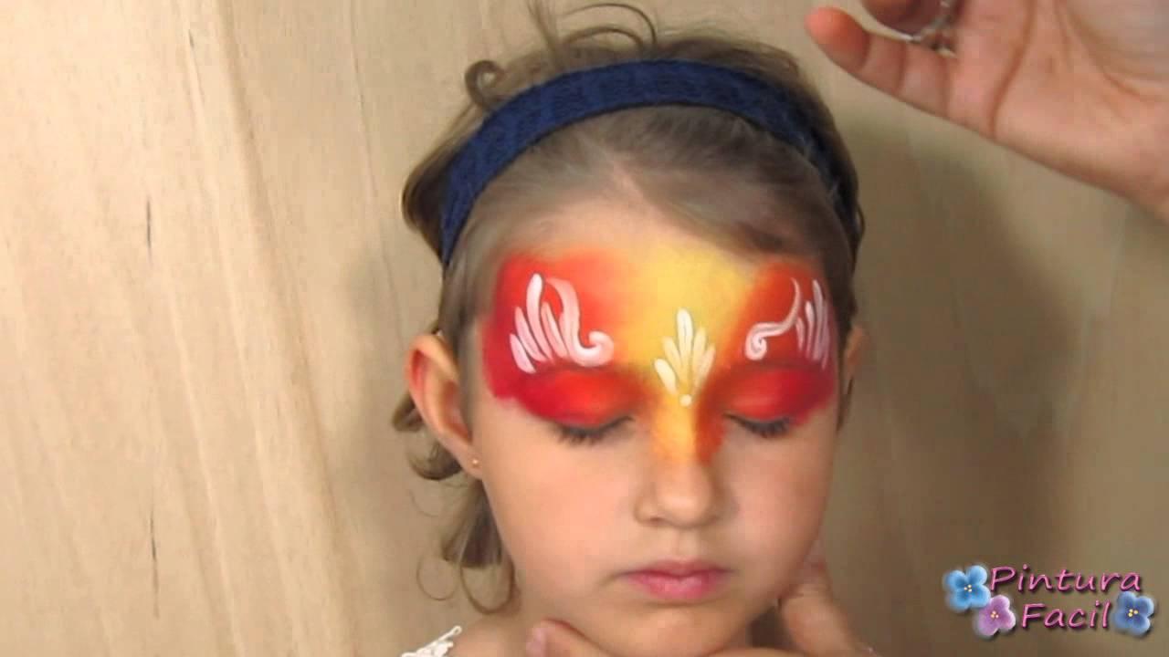 como pintar la cara face painting ideas maquillaje para carnaval halloween pintura facil camila youtube