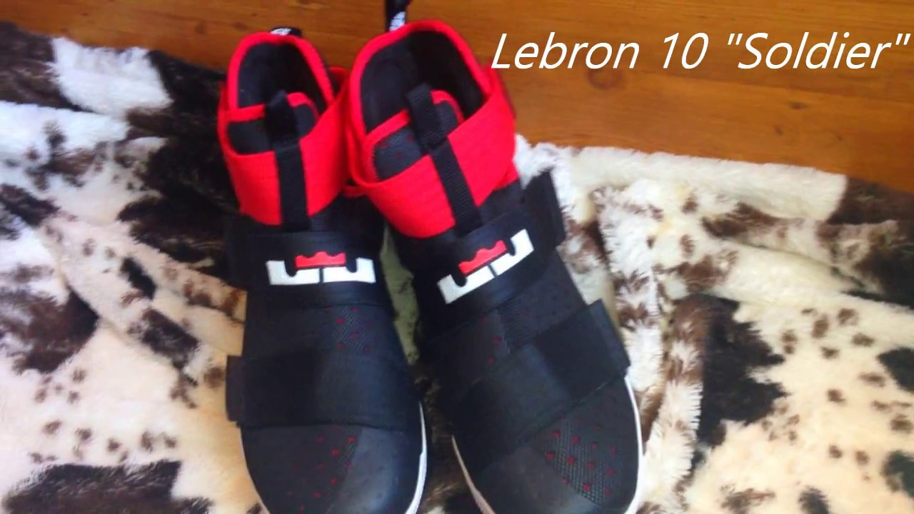 reputable site 519ef 0646f LEBRON 10 SOLDIER DHGATE REVIEW