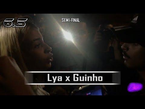 Lya (RJ) X Guinho | SEMI-FINAL | 50ª Batalha Do 6.5 | Cidade Tiradentes