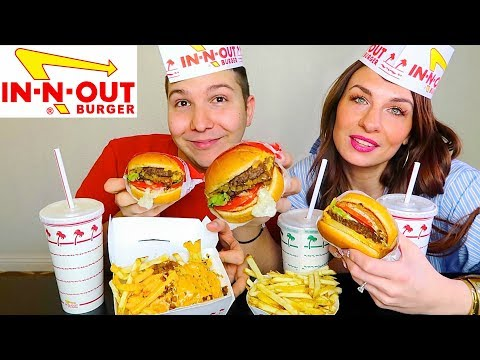 In-N-Out Challenge • MUKBANG