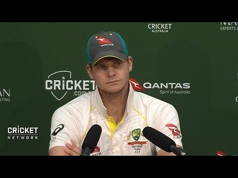 Super Smith fronts media after another ton