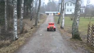 Ford 32 Deuce 3 Window Coupe  V8 Lådbil Homemade Soapbox car Electric powerd