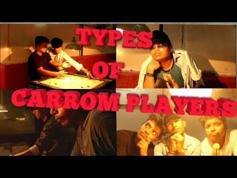 TYPES OF CARROM PLAYERS || Chandresh Dube ||YASH ||