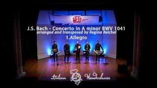 J.S. Bach Violin concerto in A minor BWV 1041 - Allegro