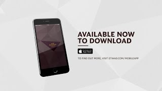 Etihad Airways | iPhone App