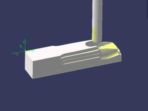 Morgan Fry mouthpiece machining simulation