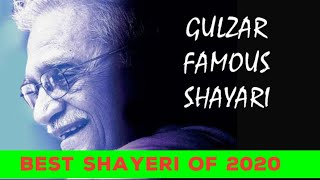 GULZAAR SHAYARI | Gulzar poetry in hindi, Gulzaar latest shayari, in urdu, famous shayari of Gulzar,