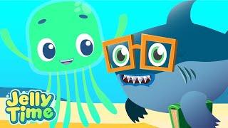 Jelly Time! - Funny Baby Shark  | Adventures Under The Sea | Kids Cartoons | Wildbrain Cartoons