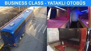 FANTASTİK Yataklı İki Katlı Otobüs - Devasa Neoplan Megaliner Kırkayak