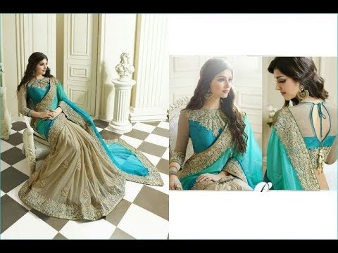 Indian Saree Designer Style 2018 For Party Wear