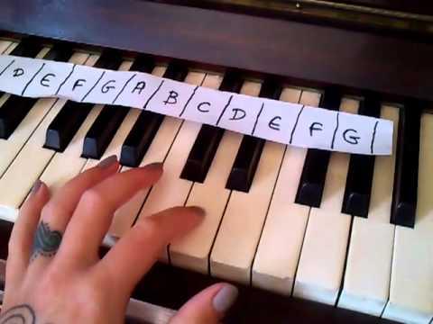 Deep in the meadow, film version, piano left hand demo