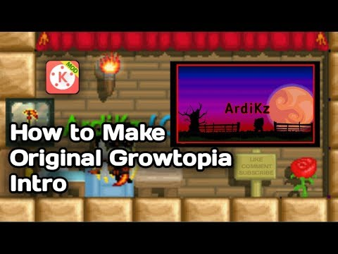 How To Make Original Growtopia Intro | Growtopia Tutorial