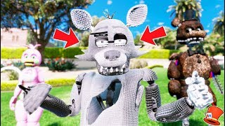 Gambar cover BRAND NEW SILVER FOXY ANIMATRONIC! (GTA 5 Mods For Kids FNAF RedHatter)