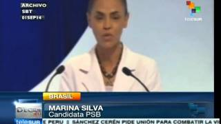 Rousseff and Silva face off during second presidential debate