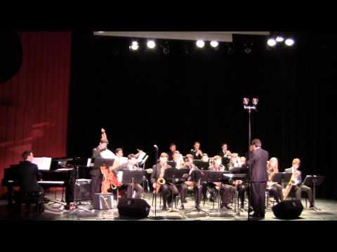 Nassau Suffolk Jazz Ensemble  I have Dreamed & Song for Bilbao  1 31 15  CW Post  Tilles Center
