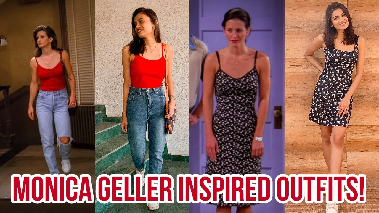 FRIENDS LOOKBOOK 6  I dressed up as Monica Geller ☕️