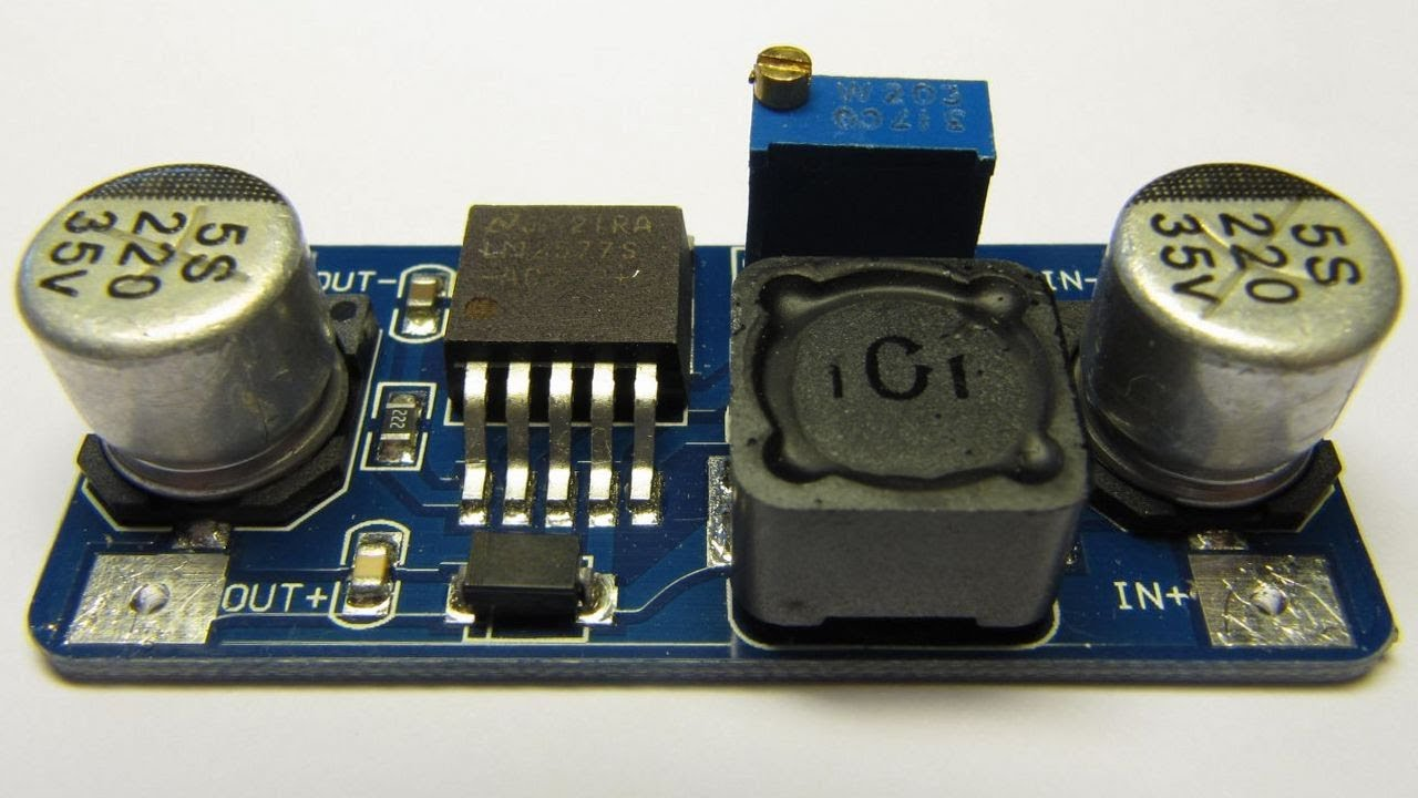 Dealextreme Dc Boost Converter Review Lm2577 Youtube Circuit