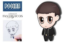 How to draw Cute Credence (Fantastic Beasts)