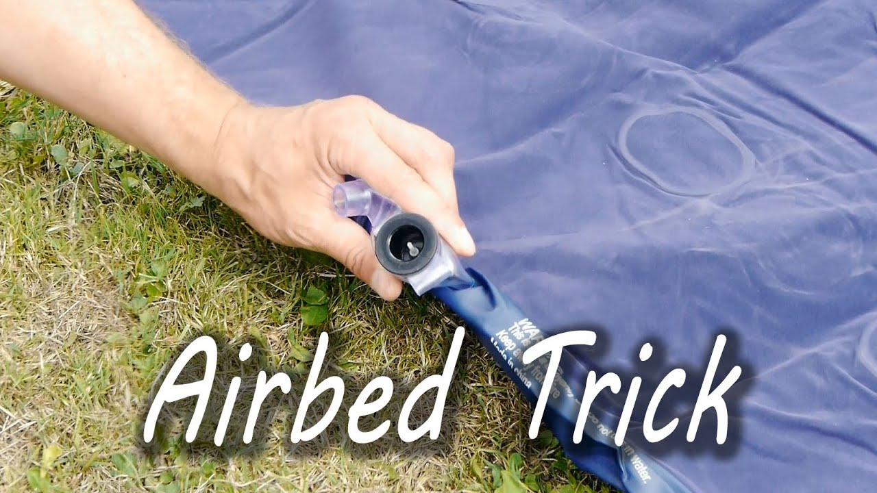 Chloortablet In Zwembad Zonder Pomp How To Inflate An Airbed Without A Pump Youtube