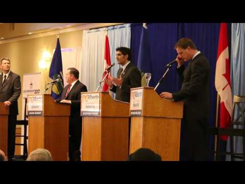 Alberta Conservative 2017 Leadership Debate video 2