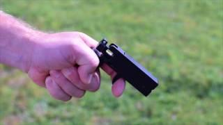 Firing the Trailblazer Firearms LifeCard  22LR