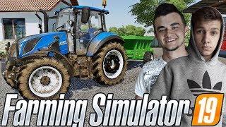 Farming Simulator 19☆Sprzedaż Jęczmienia, Nowe Pole & i FAIL z RCW:D  !☆ ✔ Sąsiedzkie Zmagania #22