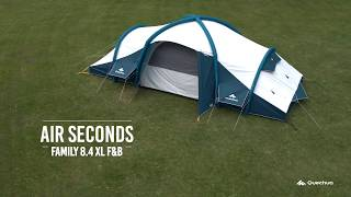 Here are the links for the AIR SECONDS FAMILY 8.4 XL F&B tent : FR:...