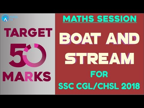 Adda247 Night Class - Boat and Stream For SSC CHSL | Maths | Online Coaching For SSC CGL