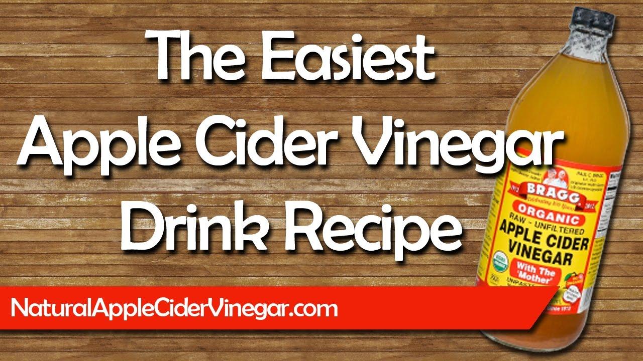 Apple Cider Vinegar Drink Recipe for Colds, Flu, & Common