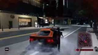 Watch Dogs   Police Chase Gameplay    HD