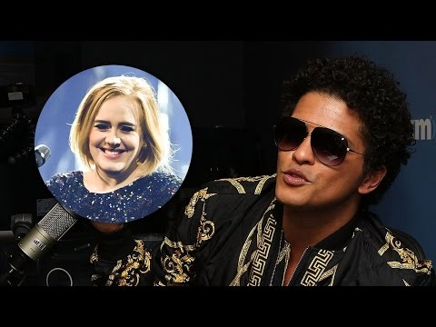 Bruno Mars Reveals He & Adele Butted Heads...
