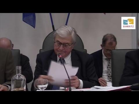 Ville de Biarritz - Conseil Municipal du 20  Décembre 2017