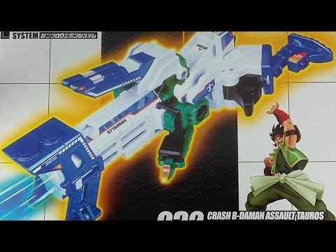 LET'S BUILD! - Crash B-Daman Assault Tauros