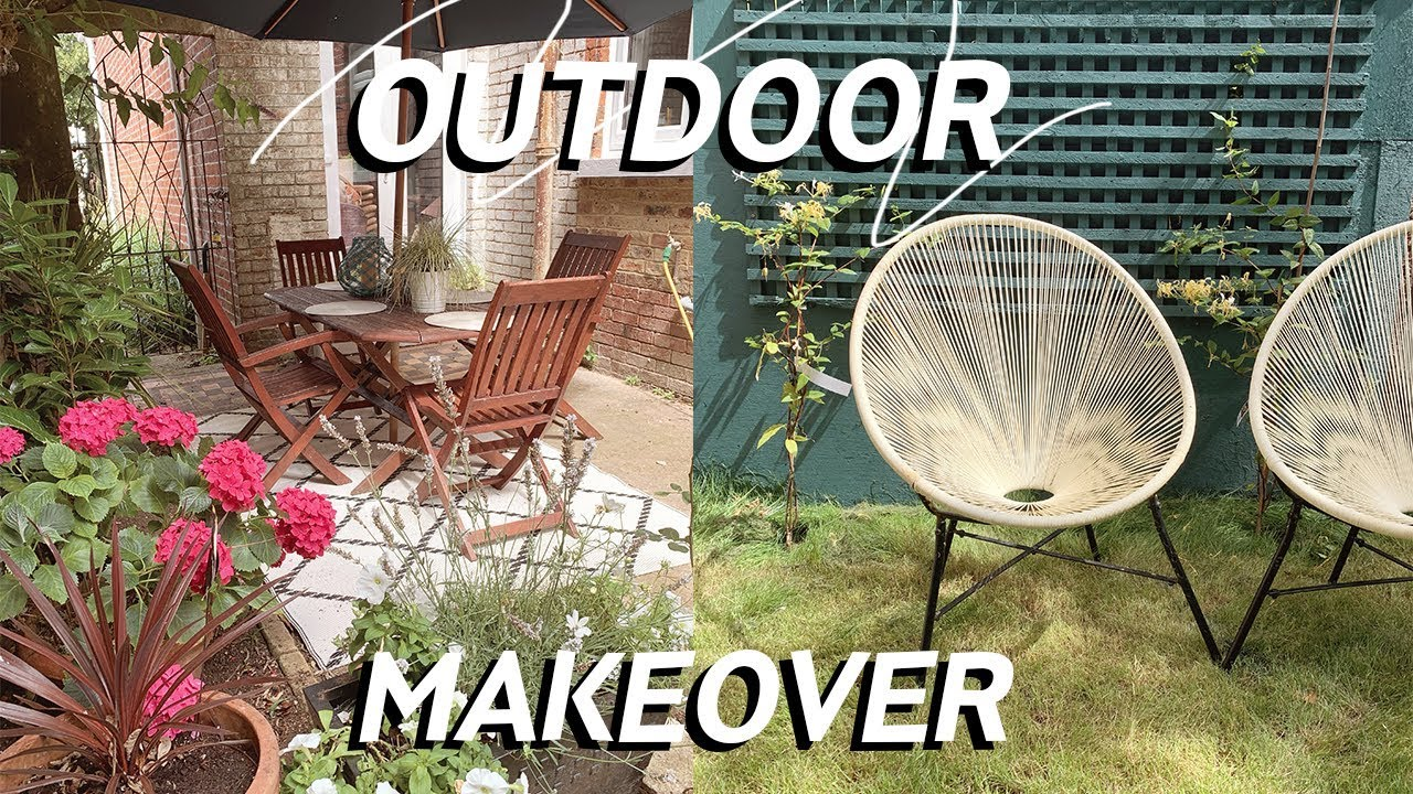 Garden Makeover | Outdoor Space Transformation on a Budget 2019