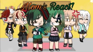 Bnha Mom's React To Tik Tok ||Gacha Life