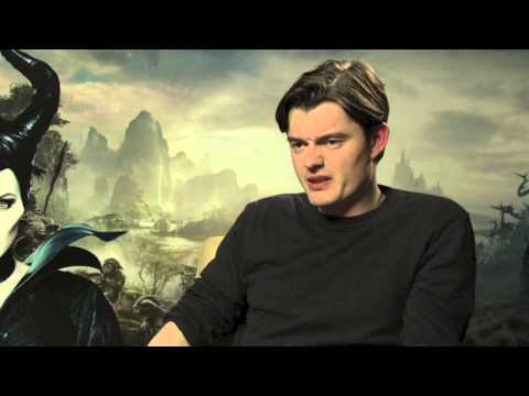 Company meets...Maleficent Star Sam Riley