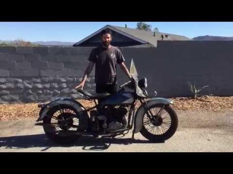 1935 VLD Harley Davidson Flathead / Block Plane Studio
