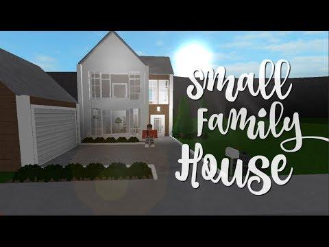 Bloxburg: Small Family House 30k - YouTube