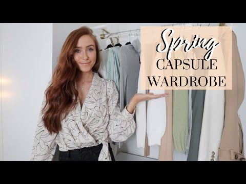 THE TOP 10 PIECES YOU NEED IN YOUR SPRING CAPSULE WARDROBE